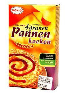 Pancake Mix Multi Grain Koopman 14 oz