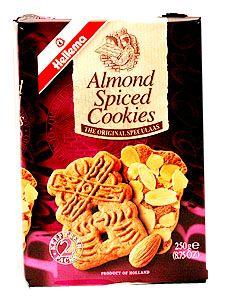 Almond Speculaas 7oz Dutch Bakery