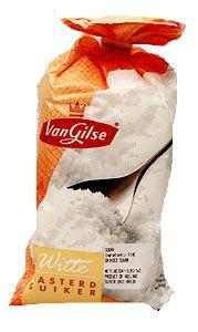 Basterd Suiker - Caster Sugar  White 17oz