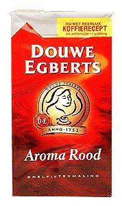 Coffee Douwe Egberts Red 500 gram 17.6 oz