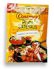 Conimex Peanut Satay Sauce Dry Mix 2.45oz bag