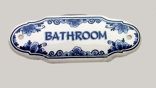 BATHROOM MARKER DBFLOWER
