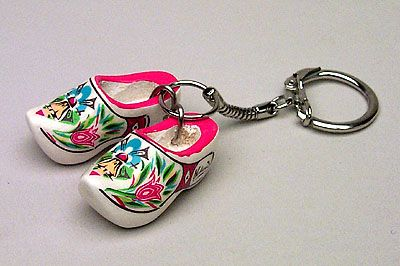 Keychain 2 Clogs Multi Color Mill