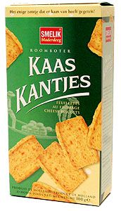Kaaskantjes/Cheese Snacks 3.5 oz Box