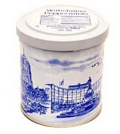 Wilhelmina Peppermint Delft Blue Tin 15.8 oz