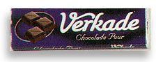 Verkade Puur Bittersweet Chocolate Bar 2.65oz/75gram