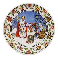 Plate Color Sinterklaas