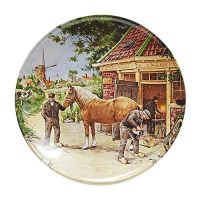 PLATE COLOR 9 INCH BLACKSMITH