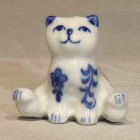 Mini Cat Sitting 1.7 inch high