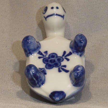 Mini Turtle on it's Back 1.75 INCH