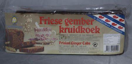 Frisian Ginger Cake 17 oz