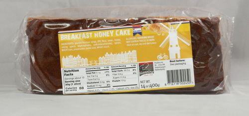 Honey Cake Continental 450gram