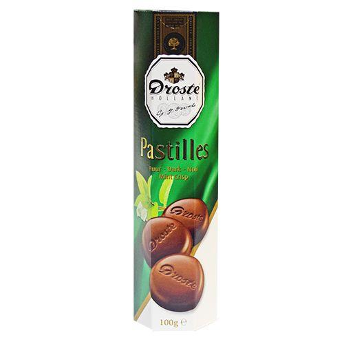 Droste Dark Chocolate Mint Pastilles 3.5 oz
