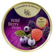 Cavendish & Harvey Tin Wild Berry Candy 5.3oz