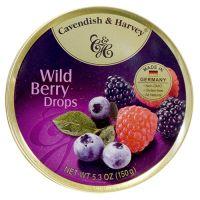 Cavendish & Harvey Tin Wild Berry Candy 5.3oz
