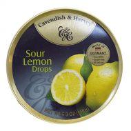 Cavendish & Harvey Tin Sour Lemon Drops 5.3 oz