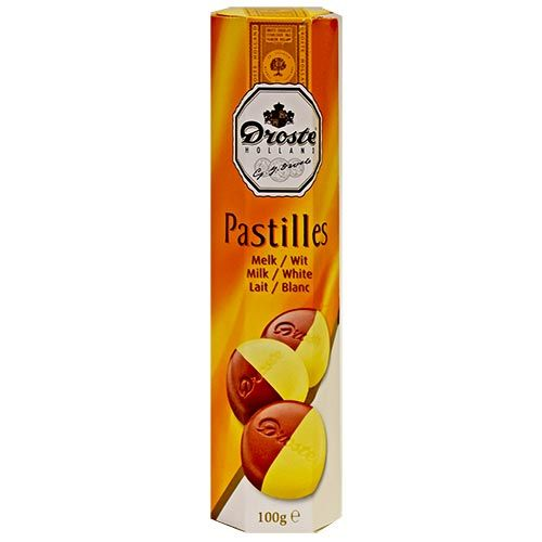 Droste Milk+White Chocolate Pastilles 3.5oz