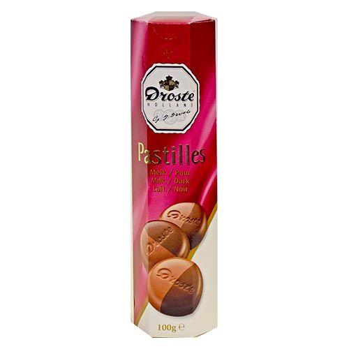 Droste Doublet(Dark/Milk) Chocolate 3.5oz