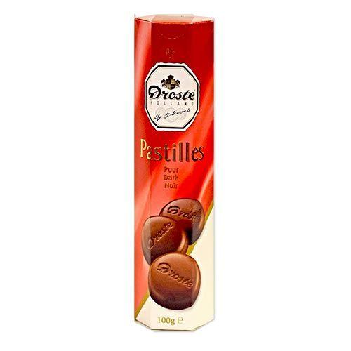 Droste Dark Chocolate Pastilles 3.5oz