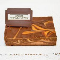 Orange Chocolate Swirl Fudge (lb)