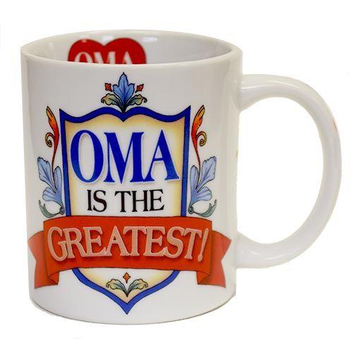 Mug Color Oma is the Greatest