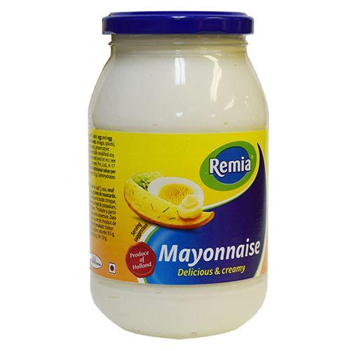 Mayonaise Remia Glass Jar 16.9 oz
