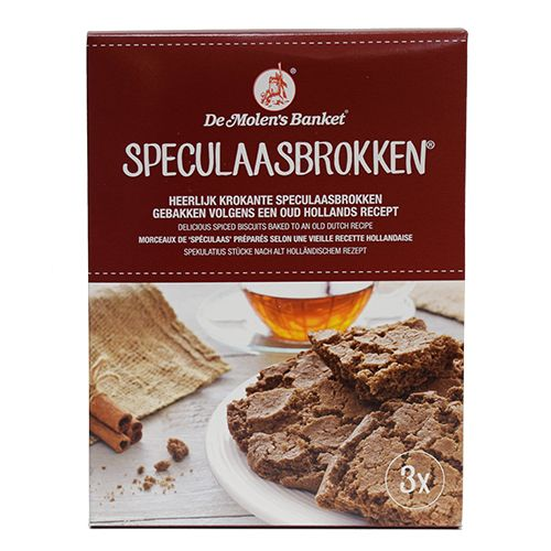 Speculaas Brokken De Molen 14.1 oz (400 gram)