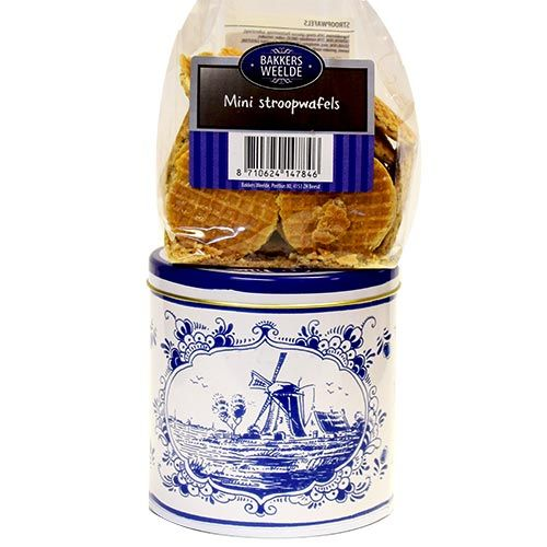 Tin with Mini Butter Stroopwafels
