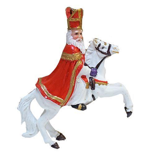 Sinterklaas on his Galopping White Horse