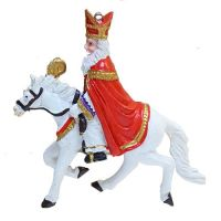 SINTERKLAAS ON HIS WHITE HORSE