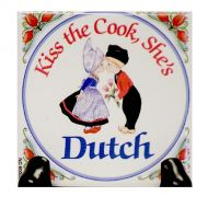Magnet Kiss the Cook, She's Dutch